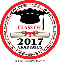 Class of 2017 Graduates is a design that shows your pride as...