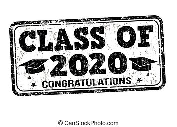Class of 2020 stamp