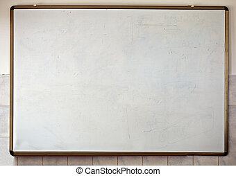 classe, école, blanc, tableau, education