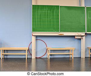 classe, école, tableau noir