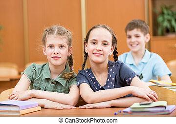 classe, écoliers