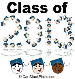 classe, 2013, facce