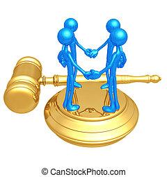classe, action, droit & loi