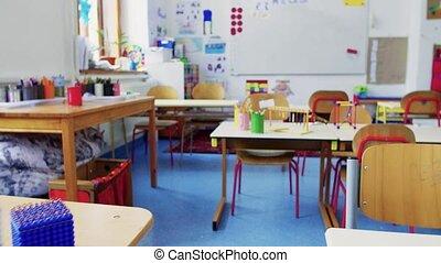 classe, appui verticaux, school., bureau