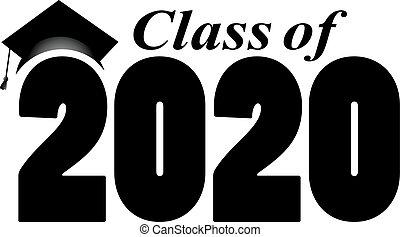 classe, bannière, 2020