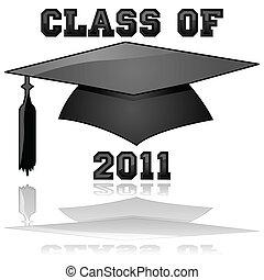 classe, di, 2011, graduazione
