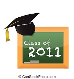 classe, di, 2011, scuola, educazione