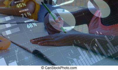classe, finance, transition, graphique