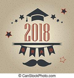 classe, graduação, 2018