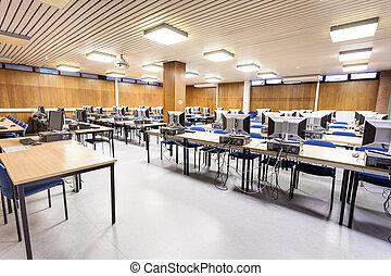 classe, informatique