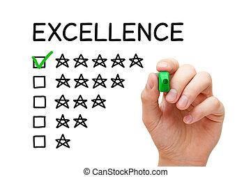 classement, concept, excellence