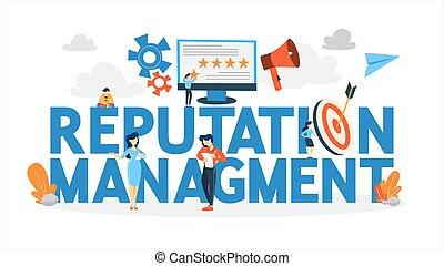 classement, réaction, idée, réputation, ligne, management.