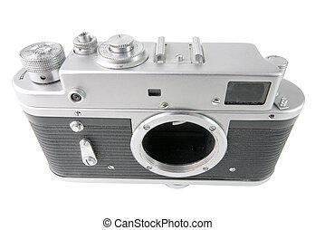 Classic 35mm camera body - super wide angle shot