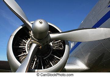 classic aircraft engine