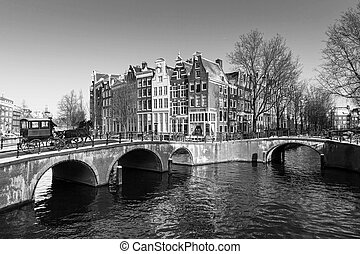 Classic Amsterdam canal