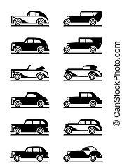 Classic and retro cars