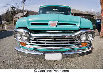classic antique pickup truck