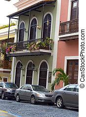 classic architecture old san juan - classic spanish...