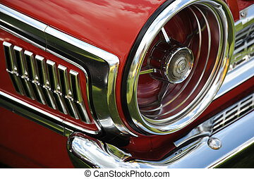 Classic automobile.