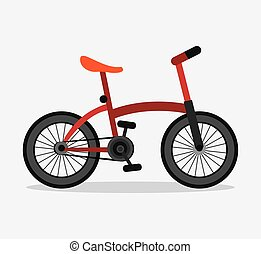 Classic Bicycle. bike icon. sport concept. vector graphic