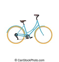 Classic bicycle icon