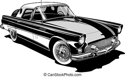 Classic Bird Convertible - 56 Bird hardtop/convertible...