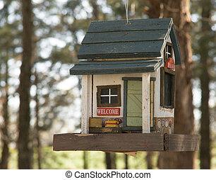 Classic Bird Feeder - Weekend Cabin bird feeder from Ozark...