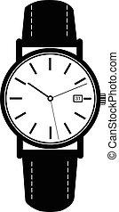 Classic black watches - Classic luxury mechanic watches...