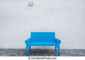 blue table in the Park