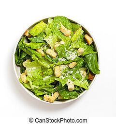 Classic Caesar Salad with croutons - The Caesar salad...