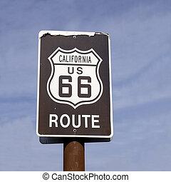 Classic California Route US 66 High