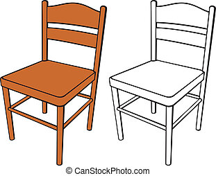 classic chair clipart and stock illustrations 6 880 classic chair rh canstockphoto com clipart chair massage clipart chair yoga