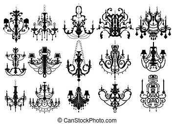 Classic chandelier Set Collection