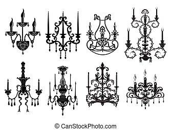 Classic chandelier Set