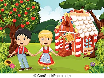 Classic children story. - Vector illustration of Classic...