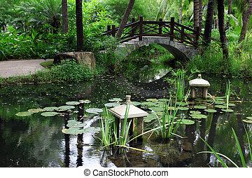 classic chinese garden, China