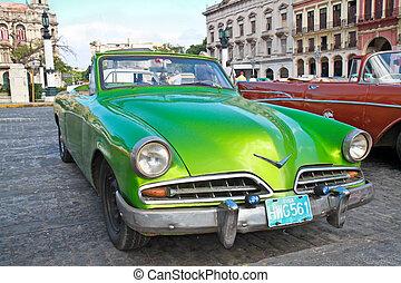 Classic citroen in Havana. Cuba.