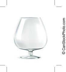 Classic cognac glass, bar ware, necessary accessories for...