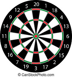 Darts Board - Classic Darts Board