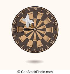 Classic Darts Board