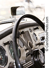 classic dash - vintage car dash