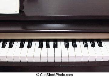 Classic electric pianos