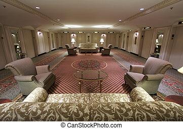 Classic Elevator Lobby