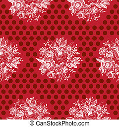 Classic Floral Seamless Pattern
