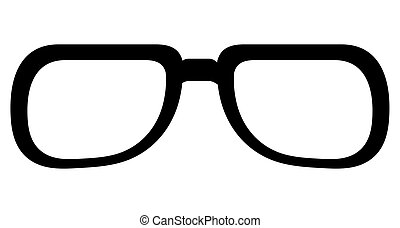 Classic round glasses. Classic round frame glasses vector ...