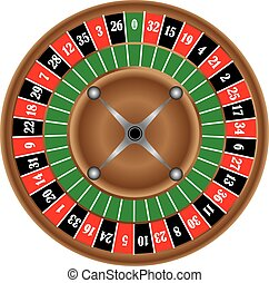 Classic game of roulette wheel - The classic game of...