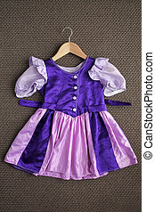 Classic Girl Dress Dress up Costume - Above view of classic...