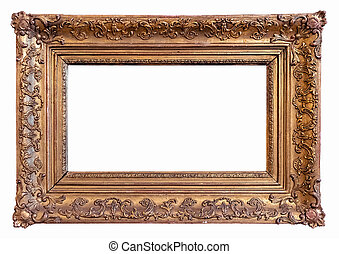 Classic Gold Plated Picture Frame
