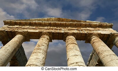 Classic Greek Temple at Segesta