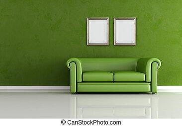 classic green interior